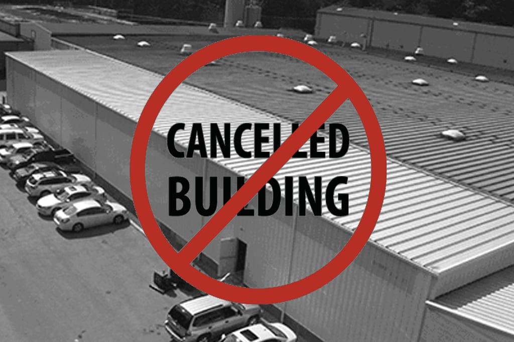 Steel Building Cancelled Building