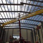 Building 18C - Crane Installation