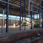Steel Framing Progress
