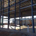 Steel Framing Progress 2