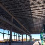 bottom of bar joist roof