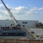 shaking out steel for addition