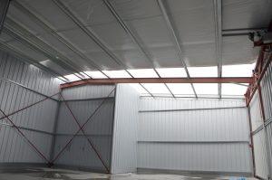 Steelsmith-SteelBuilding-AirplaneHangar-CondorAeroClub-InsideHangar4