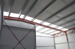 Steelsmith-SteelBuilding-AirplaneHangar-CondorAeroClub-InsideHangar3