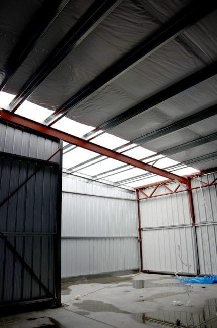 Steelsmith-SteelBuilding-AirplaneHangar-CondorAeroClub-InsideHangar2