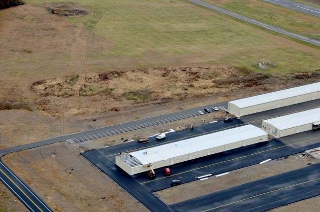 Steelsmith-SteelBuilding-AirplaneHangar-CondorAeroClub-AerialPhoto9