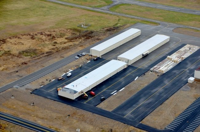 Steelsmith-SteelBuilding-AirplaneHangar-CondorAeroClub-AerialPhoto7