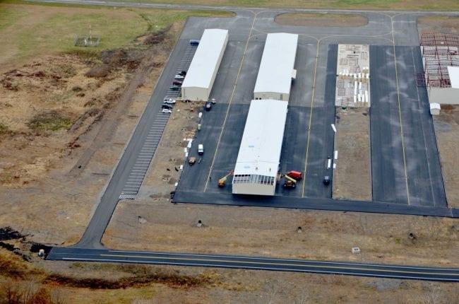 Steelsmith-SteelBuilding-AirplaneHangar-CondorAeroClub-AerialPhoto6