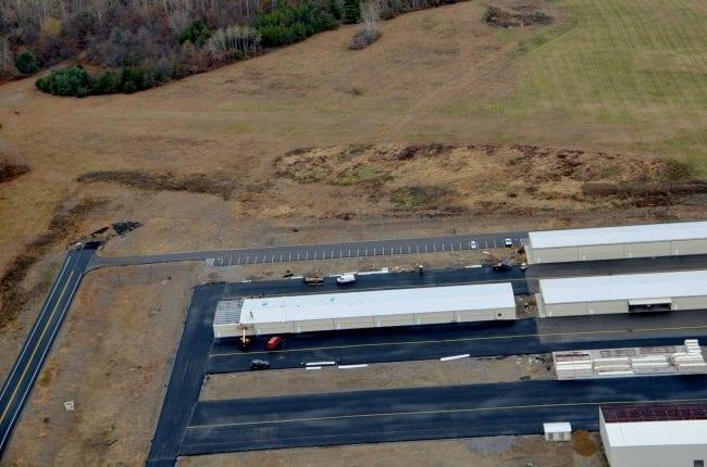 Steelsmith-SteelBuilding-AirplaneHangar-CondorAeroClub-AerialPhoto3