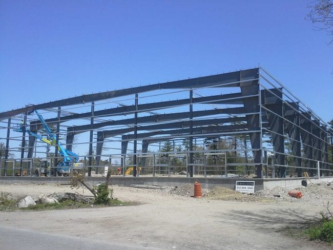 Steelsmith-SteelBuilding-Storage-JHRealty-Framing