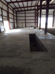 Steelsmith-SteelBuilding-Agricultural-NelsonFarms-ConcreteFoundation