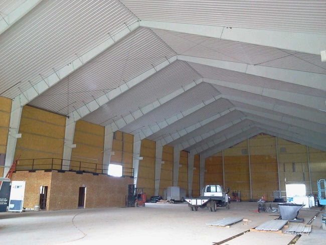 Steelsmith-SteelBuilding-Industrial-SevePillars-Interior