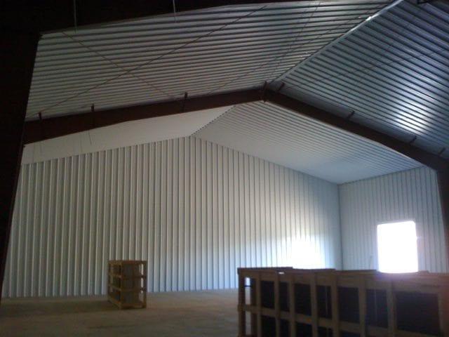 Oregon heritage developments steelsmith inc steel - Metal building interior liner panels ...