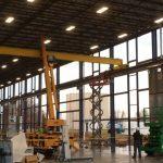 Crane install inside 2