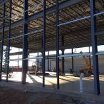 Steel Framing Progress 2