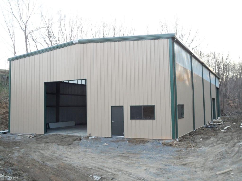 Pine Valley Bible Camp | Steelsmith Inc Steel Buildings ...