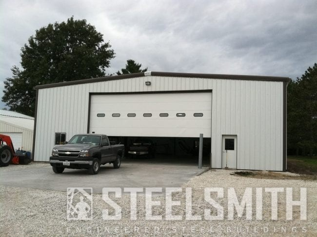 agricultural storage steel building