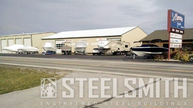 Belmont Boats Steelsmith Inc Steel Buildings And Design