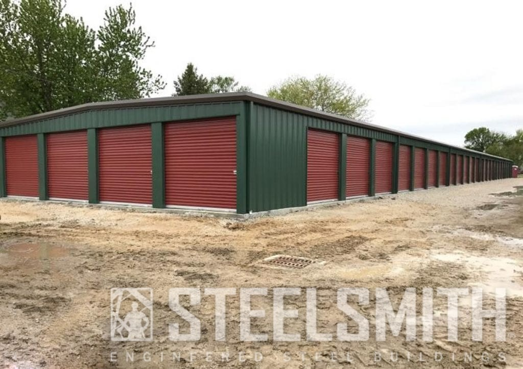 steel building mini storage