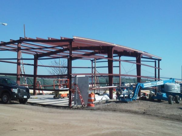 Steel Building Projects New York 12