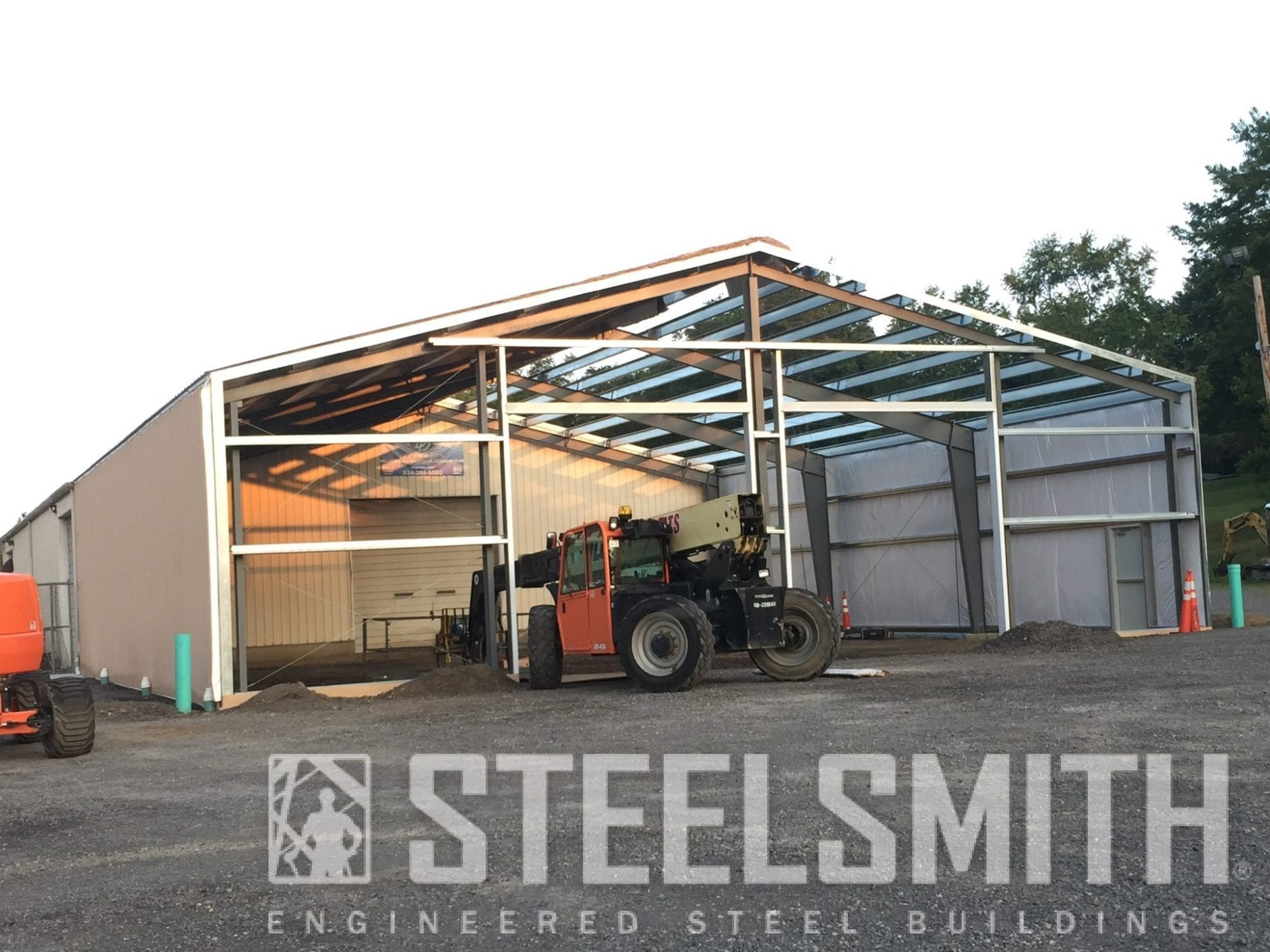 Eagle industrial painting steel buildings and metal for Industrial paint for metal