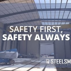Safety on Steel Building Erection Sites