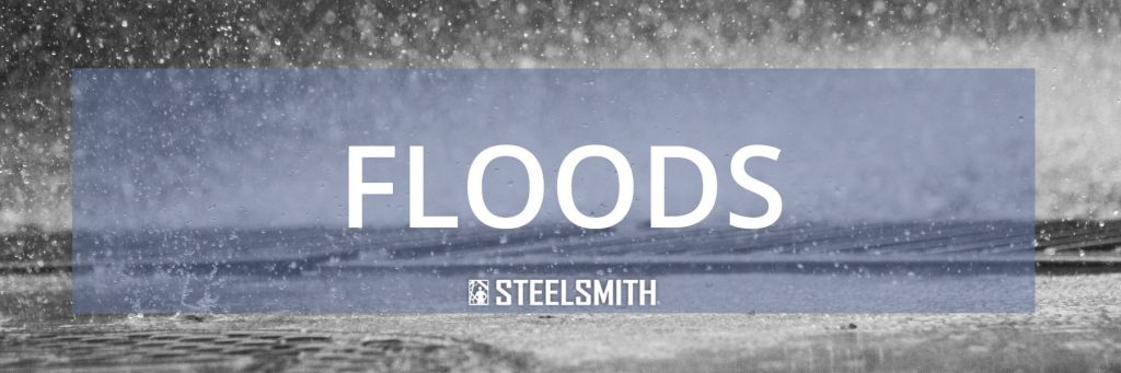 steel buildings in floods