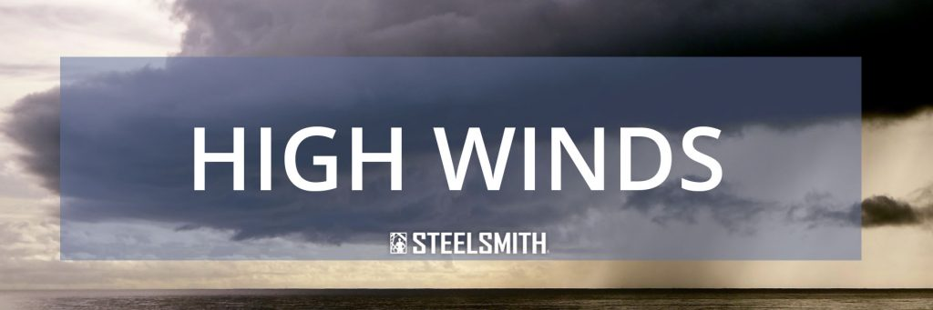 Steel buildings in high winds