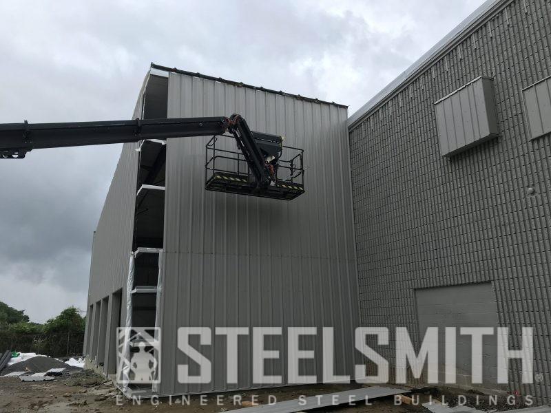 Bld 5 High Sidewall Progress