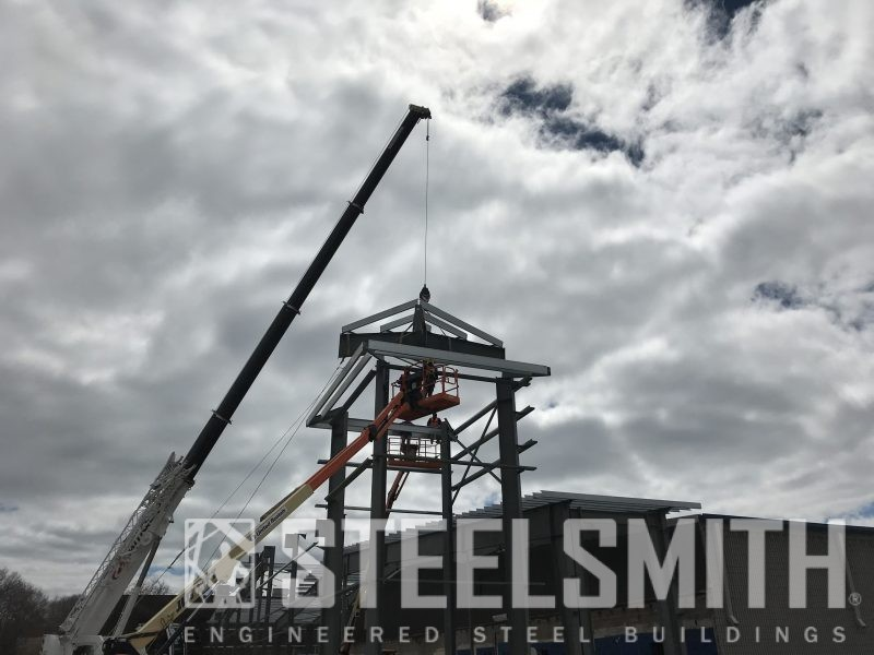 Framing Progress - Setting the Tower 3