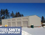 Steel Building Project Spotlight: Bus Transportation Center
