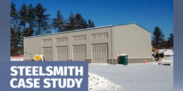 Steel Building Case Study: Bus Transportation Center