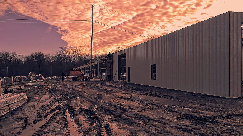 Warehouse Building Lansing