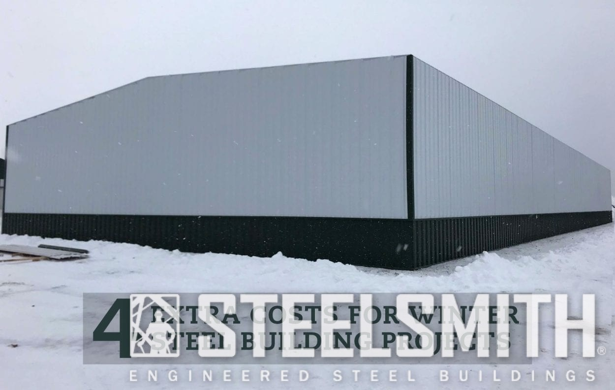 SteelBuildingConstruction-Winter-Steelsmith