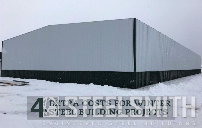 SteelBuildingConstruction-Winter-Steelsmith