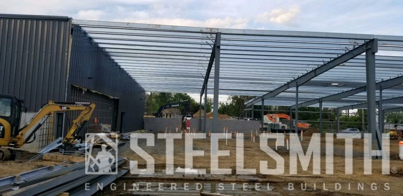 Purlins transition to building (2)