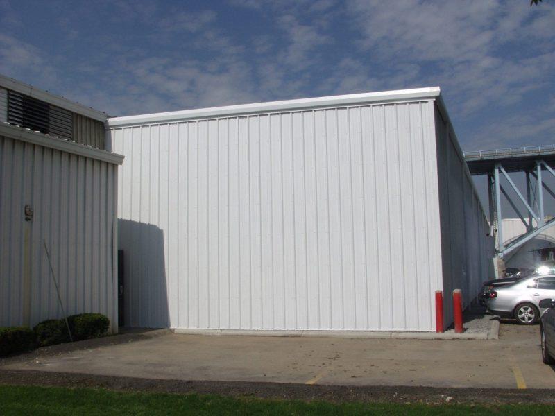 Gordon Terminal Steel Building