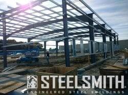 NiSource Steel Building