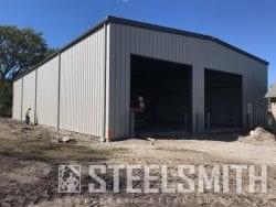 Tiger metal building