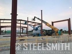 R&J Trucking Metal Building