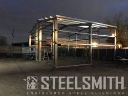 Michigan Sandblasting Metal Building