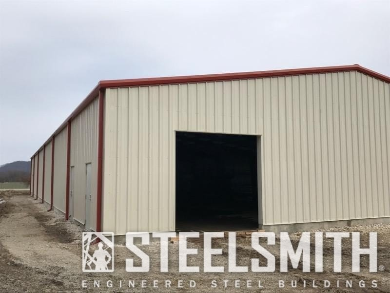 storage facility metal building