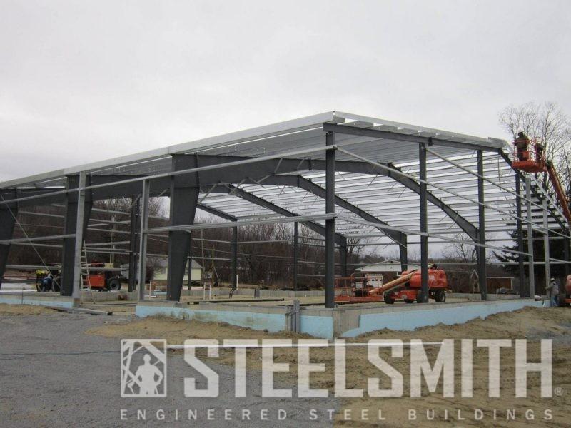 Steel Buildings Automotive