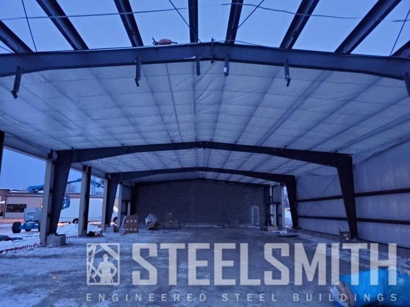 Rigid Frames_Fabric on inside of roof