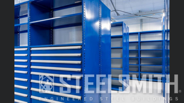 Blue tool boxes