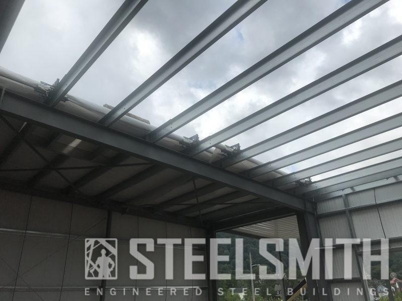 Roof installation progress (1)