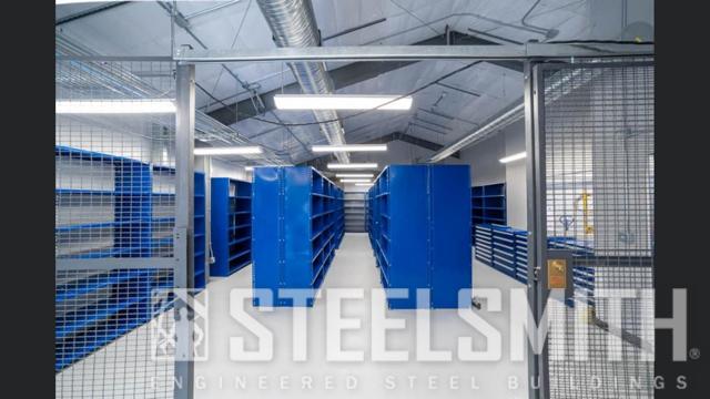 Shelving area