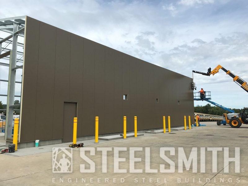 Side wall finishing wall panels