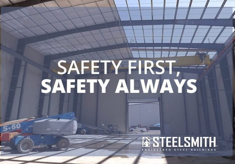 steel erection site safety